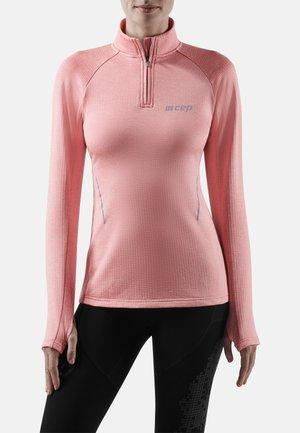 Sports shirt - rose melange