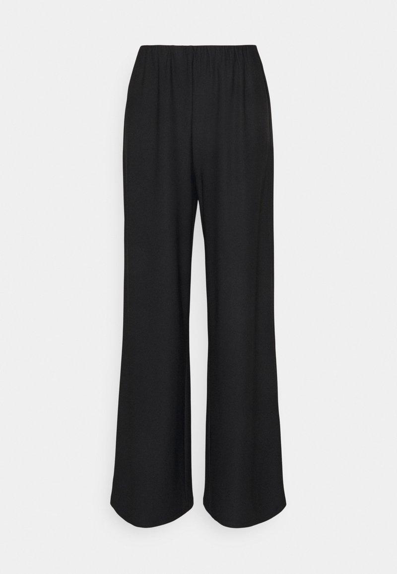 Vero Moda Tall - VMODETTA PANT - Kangashousut - black