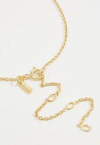 Pilgrim - CANCER - Náhrdelník - gold-coloured/crystal - 5