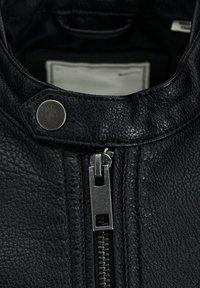 Produkt - Veste en similicuir - black - 2