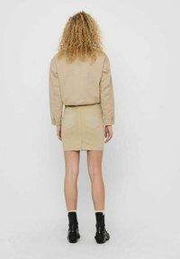 JDY - Summer jacket - beige, off-white, transparent - 2
