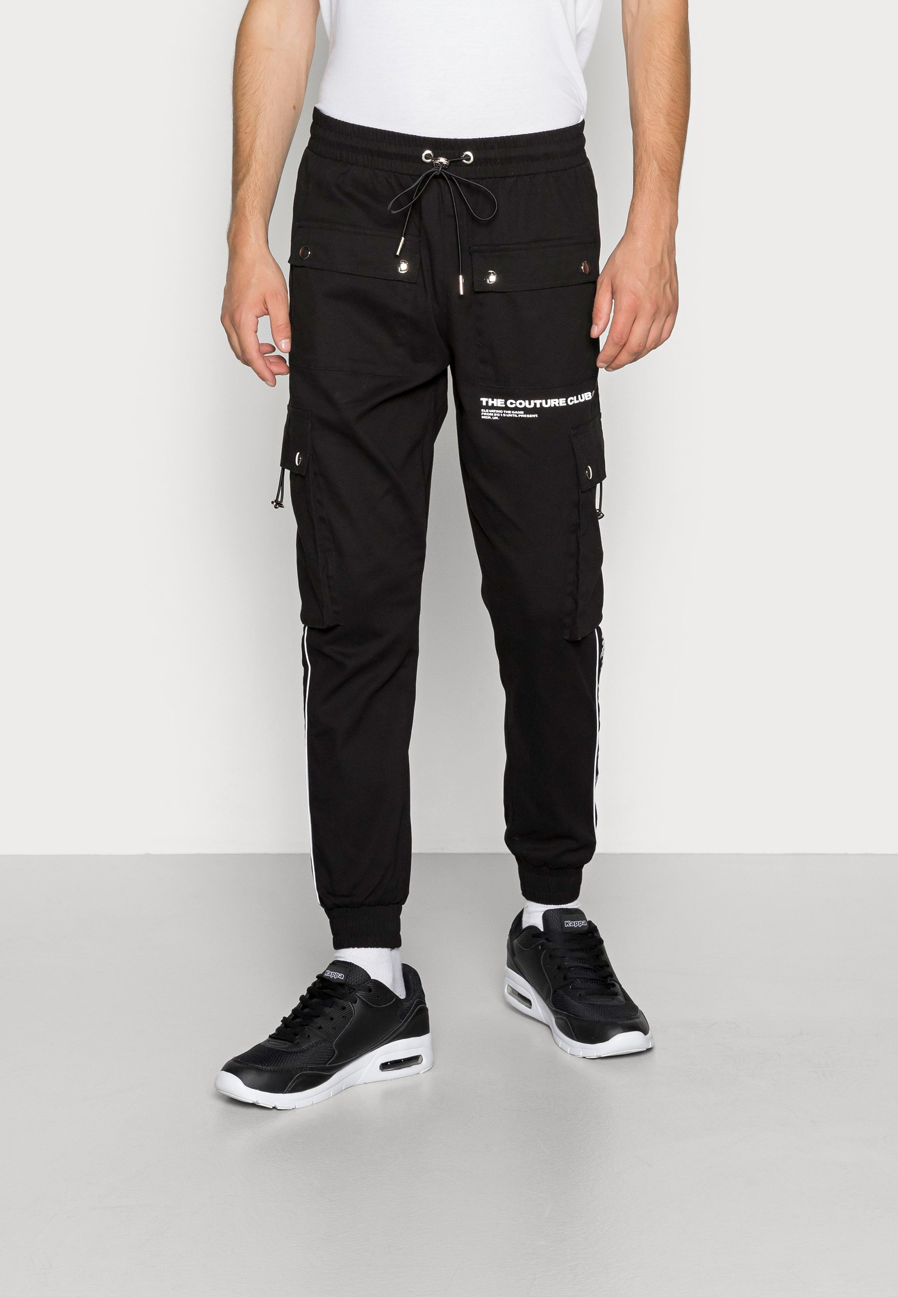 Men DEFINITION PIPED PANT - Cargo trousers