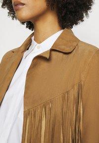 Oakwood - JANIS - Leather jacket - tan - 6