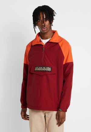 ASTROS - Windbreaker - cherry bordeaux