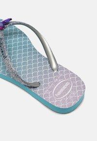 Havaianas - GLITTER COLOR - T-bar sandals - blue - 6