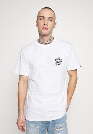 VINTAGE - T-shirt z nadrukiem - white
