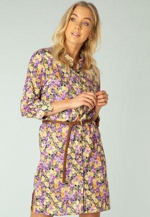 NOVELLA - Shirt dress - lilac/multi color