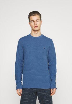 STRUCTURE CREW NECK - Neule - pebble blue