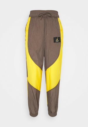 PANT - Tracksuit bottoms - ironstone/university gold