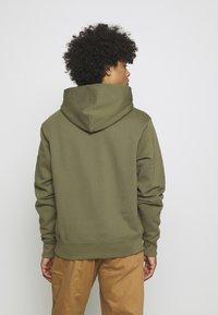 adidas Originals - BASICS HOODIE UNISEX - Sweatshirt - olive - 2