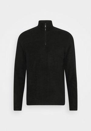 LOUNGE POLAR FLEECE - Pyjamasöverdel - black