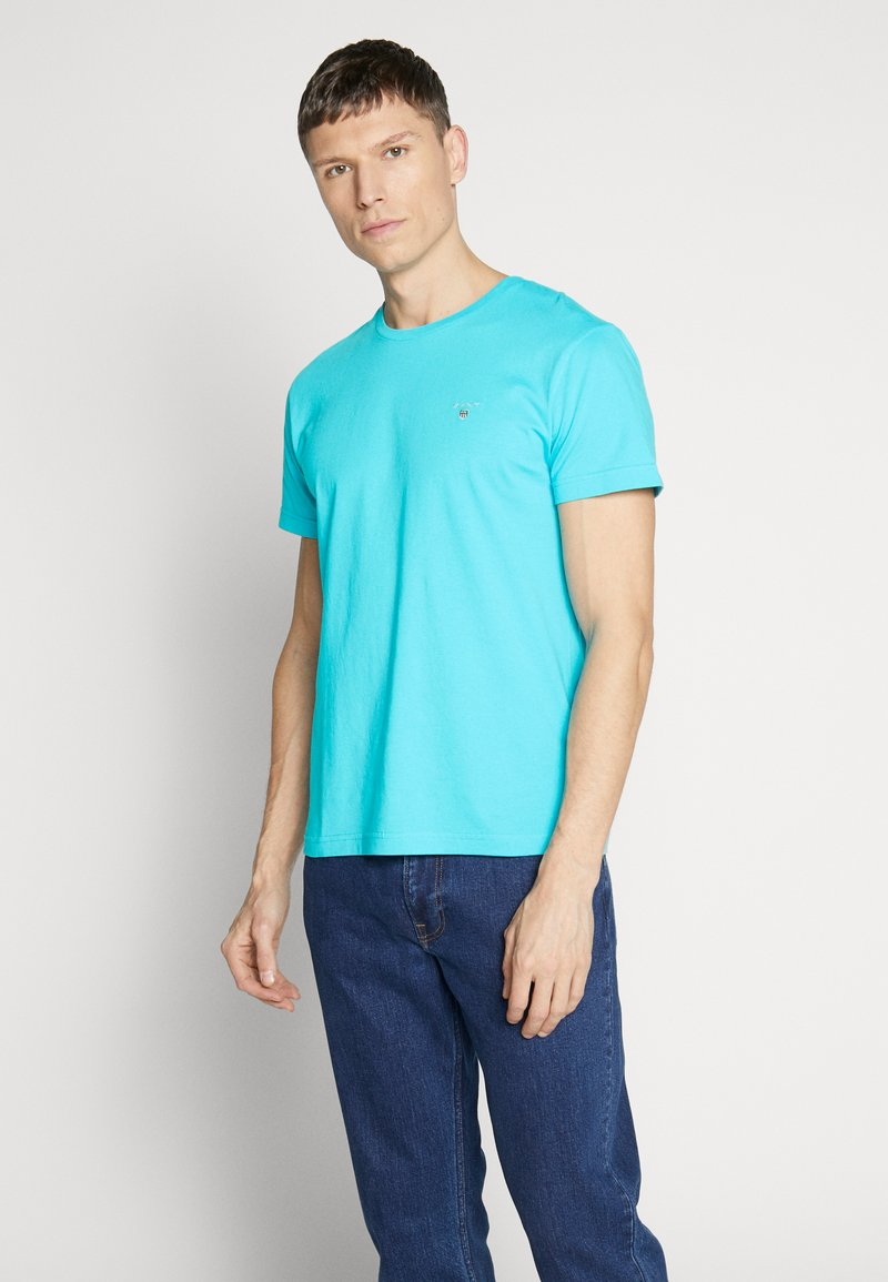 GANT - THE ORIGINAL - Camiseta básica - light blue