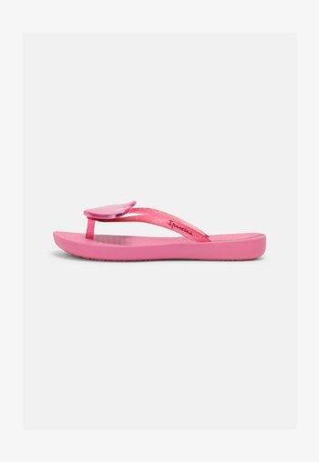 MAXI FASHION KIDS - T-bar sandals - pink/pink glitter