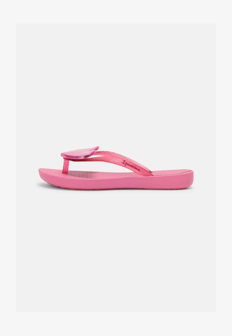 Ipanema - MAXI FASHION KIDS - T-bar sandals - pink/pink glitter