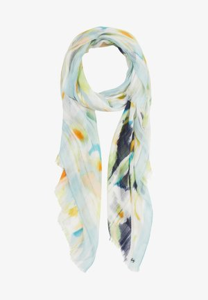 MIT ALLOVER-PRINT - Scarf - mint green faded flower