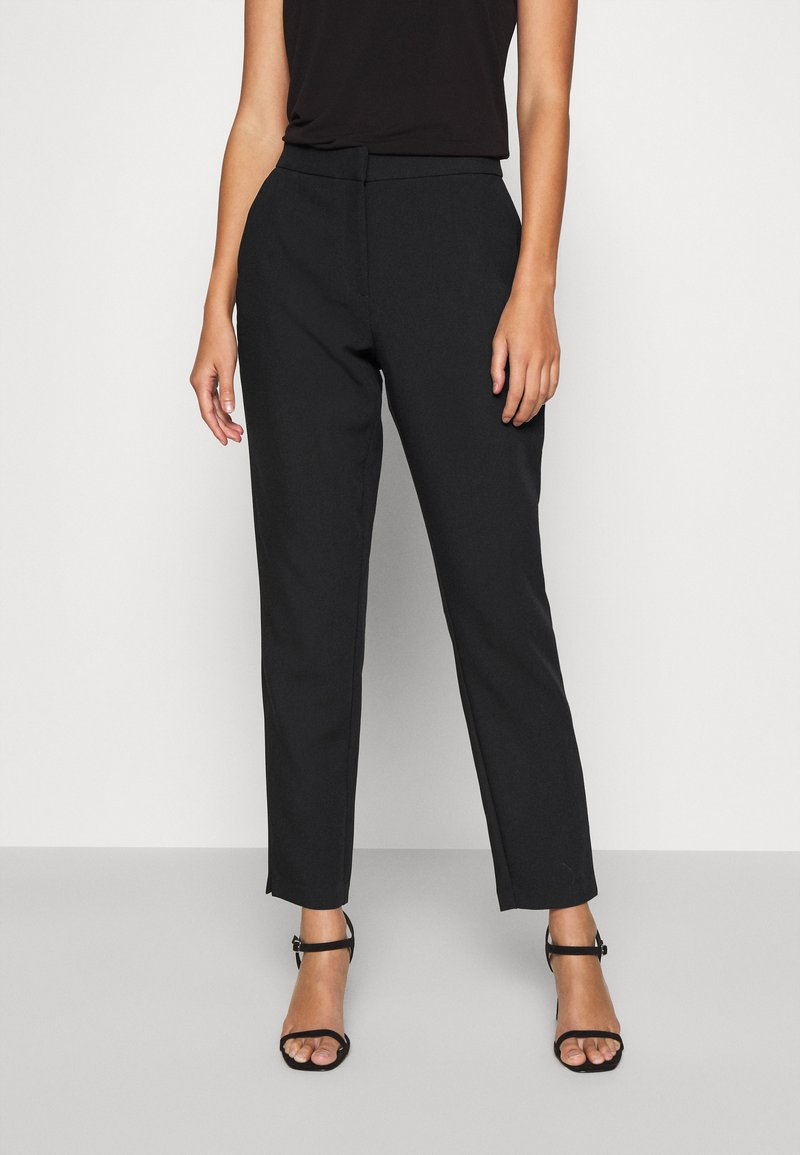 ONLY - LELY CIGARETTE PANT - Trousers - black