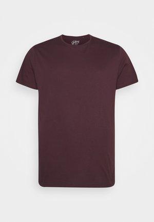 ESSENTIAL CREW NECK TEE - T-shirt - bas - plum