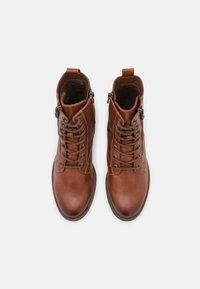 Tamaris - Lace-up ankle boots - cognac - 5