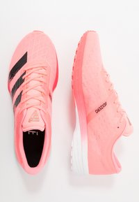 adidas Performance - ADIZERO BOUNCE SPORTS RUNNING SHOES - Zapatillas de competición - signal pink/core black/footwear white - 1