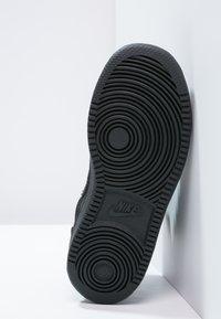 Nike Sportswear - COURT BOROUGH  - Sneakersy wysokie - black - 4
