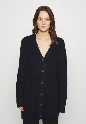 SABELLA LONG CARDIGAN - Kardigan - black