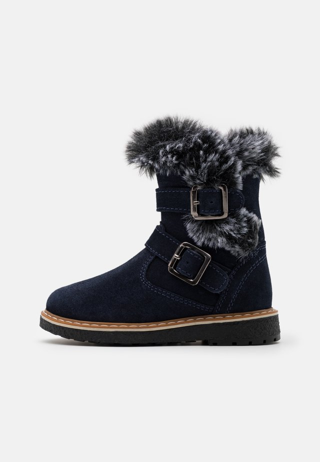 Stiefelette - dark blue