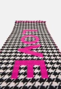Codello - LOVE PIECE DOGTOOTH - Halsduk - dark pink - 2