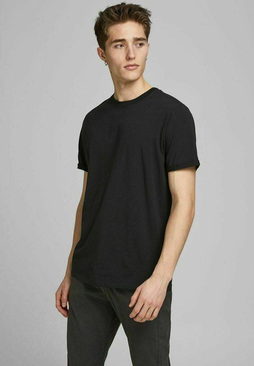Uomo JPRBLALOGO SPRING TEE CREW NECK  - T-shirt basic