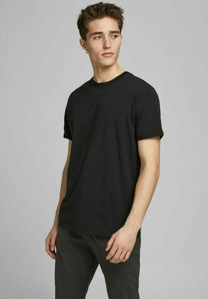 JPRBLALOGO SPRING TEE CREW NECK  - Basic T-shirt - black