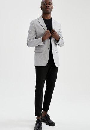 SLIM FIT - Blazer jacket - grey