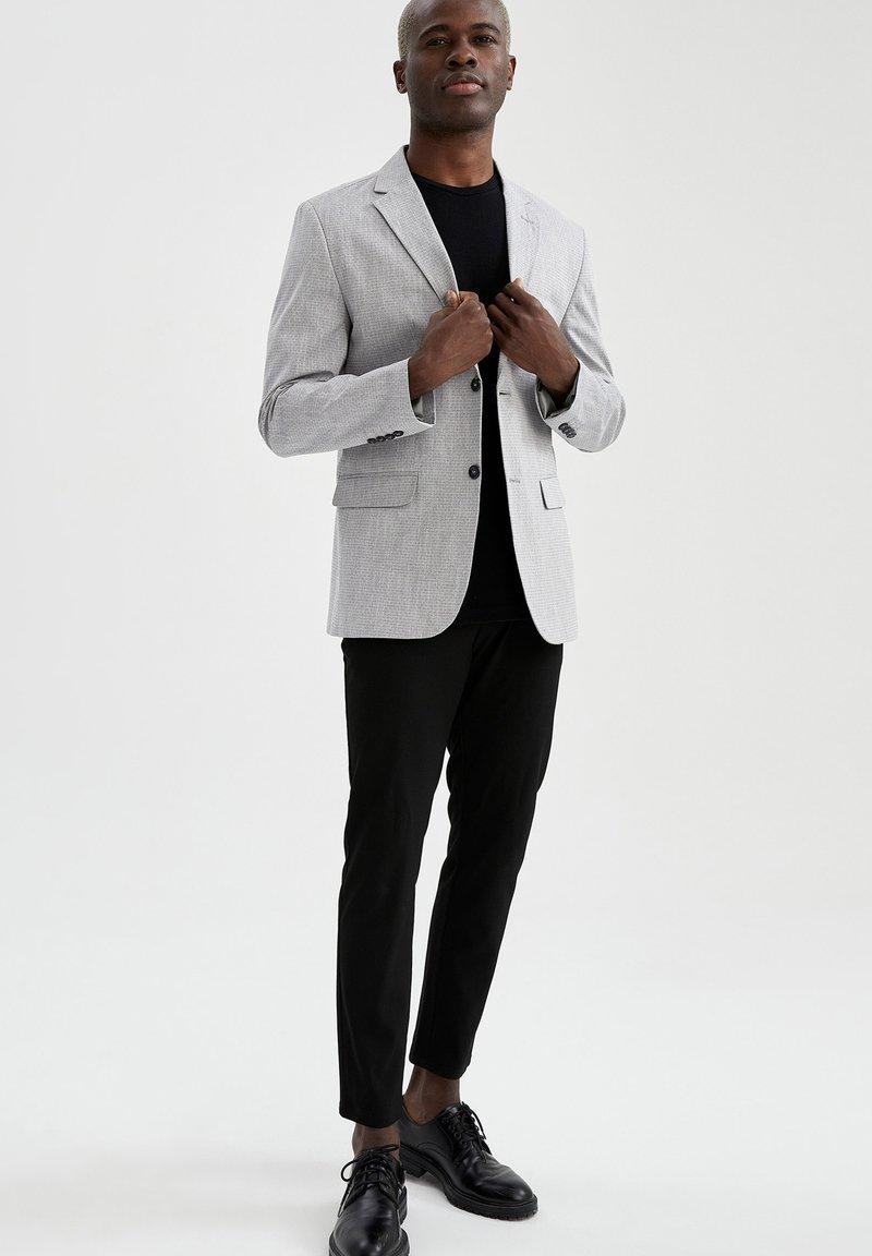 DeFacto - SLIM FIT - Blazer jacket - grey