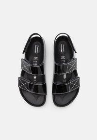 Birkenstock x Proenza Schouler - BIRKENSTOCK X PROENZA SCHOULER - Sandaalit nilkkaremmillä - black - 3