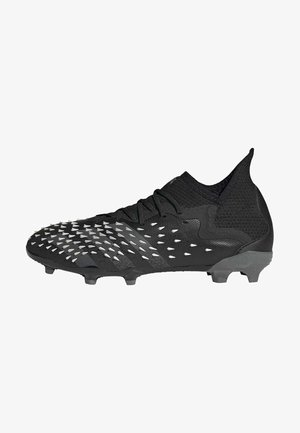 PREDATOR FREAK .1 FG UNISEX - Fußballschuh Nocken - core black/grey four/ftwr white
