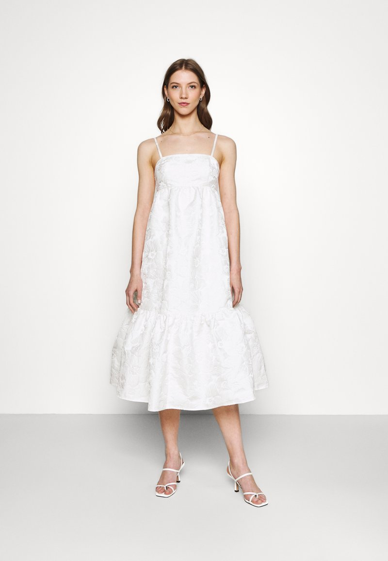 Gina Tricot - LIZETTE DRESS - Cocktail dress / Party dress - offwhite