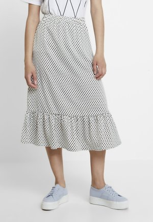 KIMORA KARMA SKIRT - A-line skirt - ecru