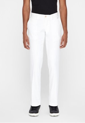 ELLOTT MICRO - Trousers - white