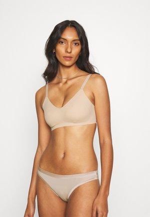 REAL FREE BRALETTE BRANDIX - Triangle bra - natural nude