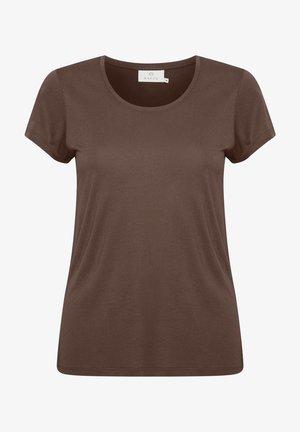 ANNA O-NECK - Basic T-shirt - m ustang