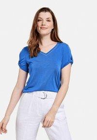 Taifun - Basic T-shirt - blue lagoon - 0