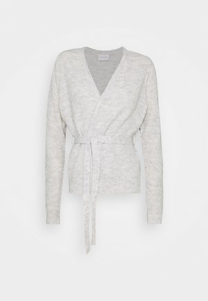 VISURIL BELT  - Cardigan - super light grey melange