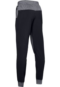 Under Armour - WARM UP - Tracksuit bottoms - black - 1