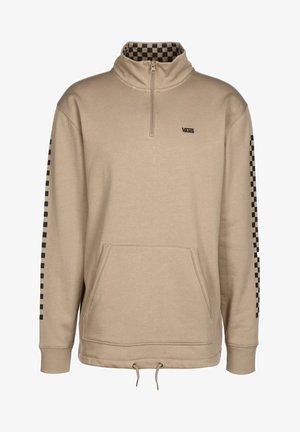 Sweatshirt - desert taupe/black