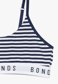 Bonds - CROP 2 PACK - Korzet - dark blue/white - 4