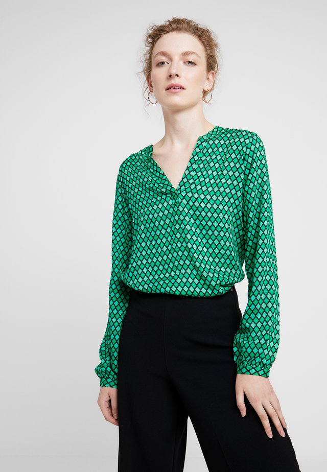 SARY TILLY BLOUSE - Blouse - fern green