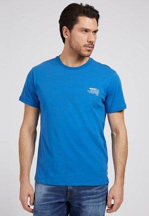 VORN - Basic T-shirt - blau