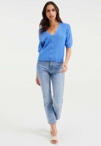 WE Fashion - Cardigan - ice blue - 1