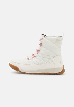 WHITNEY SHORT LACE - Winter boots - blanc/fawn