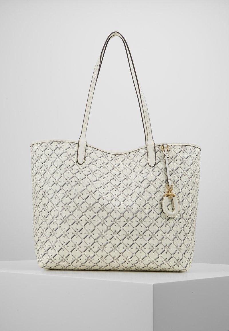 Lauren Ralph Lauren - COATED COLLINS - Bolso shopping - vanilla heritage