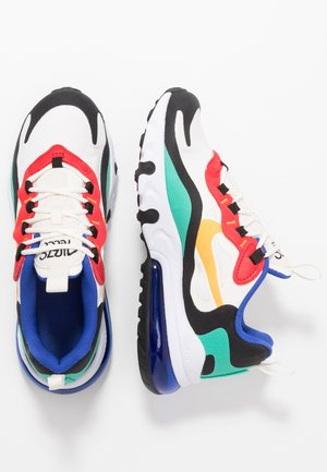 AIR MAX 270 REACT - Trainers - phantom/university gold/kinetic green/university red