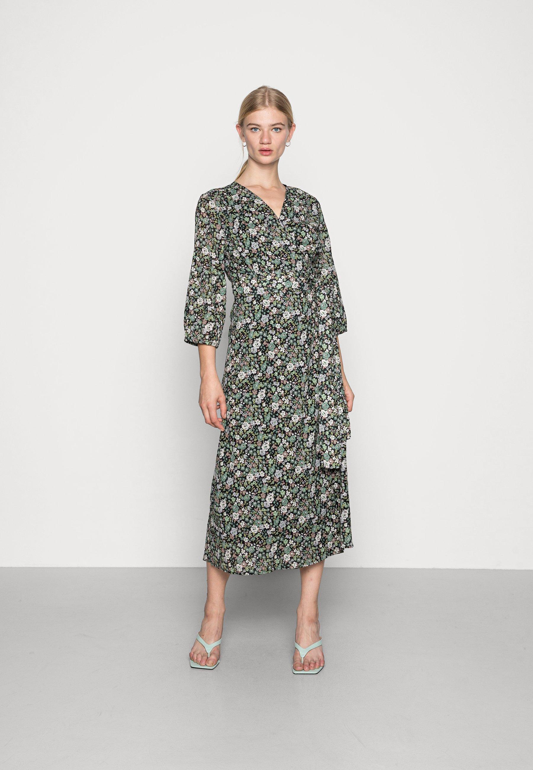 Damen LIONA WRAP DRESS - Freizeitkleid
